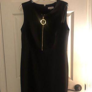 Calvin KleinZipper  front sheath dress